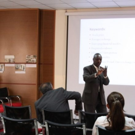 Business Seminar in KUST
